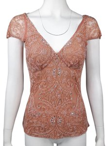 Tracy Reese Top Antique Rose Pink