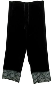 Chico's Straight Pants Black Velvet