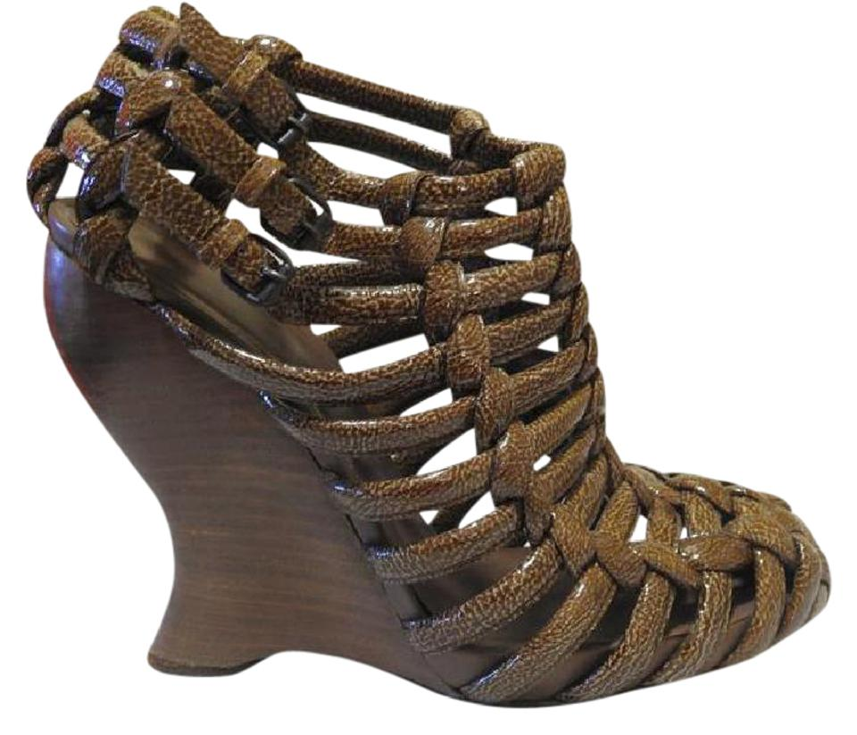 Veneta Brown Bottega Bottega Wedges Veneta Veneta Brown Bottega Wedges agzqU
