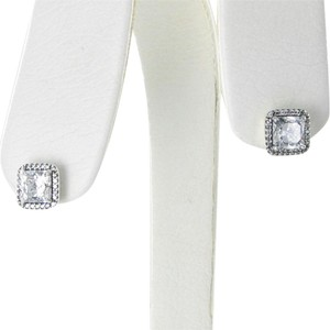 PANDORA 290591CZ Earrings Timeless Elegance Cubic Zirconia Sterling Silver
