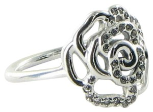 PANDORA 190949CZ Ring Rose Cubic Zirconia Sterling Silver Sz 9.25 60 NEW $65