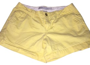 Old Navy Cuffed Shorts Yellow
