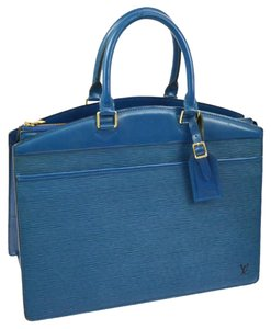 Louis Vuitton Satchel in Toledo blue