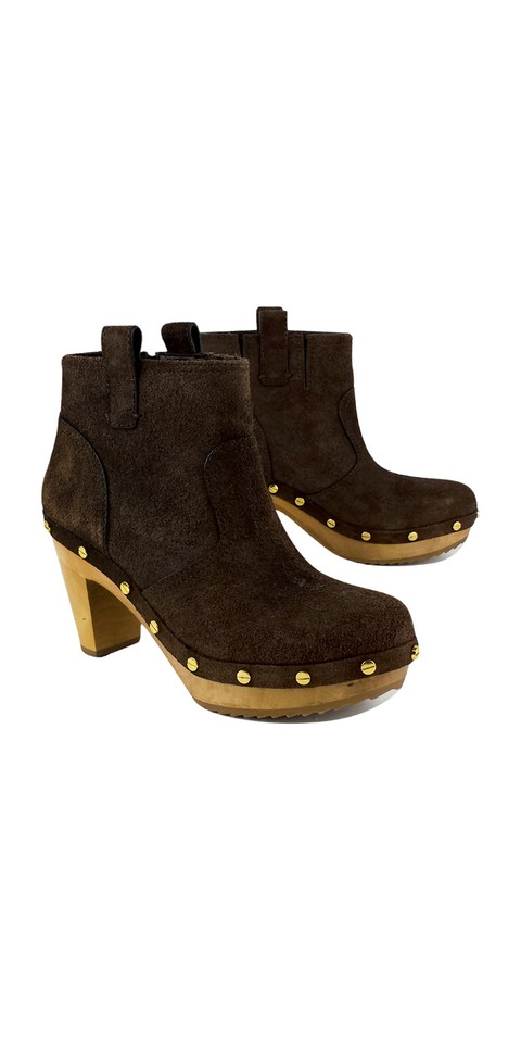 Tory Burch Brown Ginevra Suede Suede Ginevra Boots/Booties e1fb92