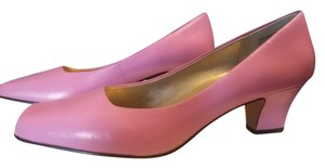 Bellini Leather Classic Wear To Work Pink Pumps