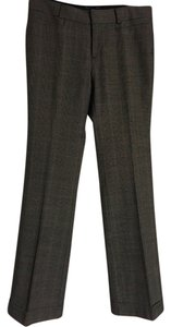 Banana Republic Trouser Pants Black plaid