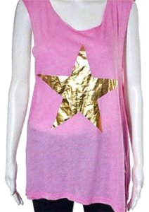 Wildfox Top pink/gold