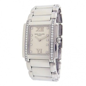 Patek Philippe Patek Philippe Twenty-4 4910/10A-011 Stainless Steel Quartz Diamonds