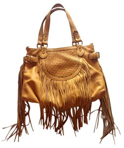 Melie Bianco Fringe Designer Colorful Shoulder Bag