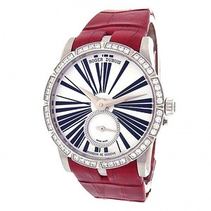 Roger Dubuis Roger Dubuis Excalibur RDDBEX0287 Stainless Steel Red Leather