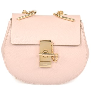 Chlo Classic Pebbled Calfskin Leather Cross Body Bag