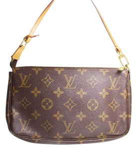 Louis Vuitton Monogram with gold hardware Clutch