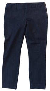 J.Crew Stretch Ankle Zipper Cityfit Skinny Jeans-Dark Rinse
