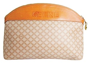 Cline Monogram with gold hardware Clutch