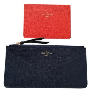 Louis Vuitton New ! Jeanne wallet inserts ziperrer pouch + card holder
