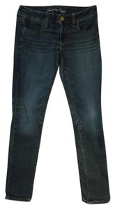 American Eagle Outfitters Jeggings Stretchy Skinny Jeans-Dark Rinse