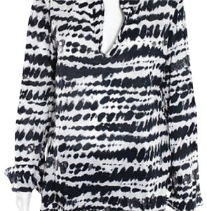 Tory Burch Top BLK/WHITE