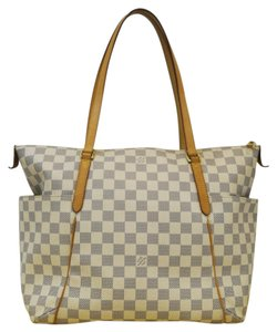 Louis Vuitton Lv Totally Mm Damier Azur Handbag Tote