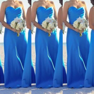 Alfred Angelo Marine Blue Alfred Angelo Style 7041 - Marine Blue - Size 8 Long Dress