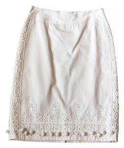 Anthropologie Skirt off white