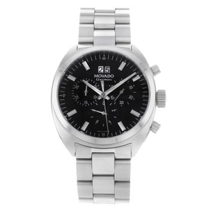 Movado Movado Datron 0606476 Stainless Steel Quartz Men's Watch (9109)
