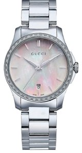 Gucci Women's Swiss G-Timeless Diamond Watch