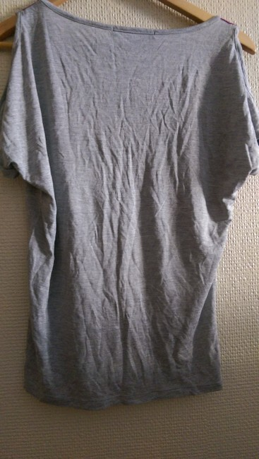 Forever 21 T Shirt purple/Gray