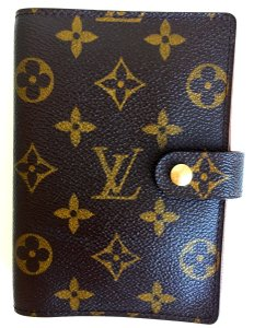 Louis Vuitton 100% Authentic LV LOUIS VUITTON Planner Small Ring Agenda