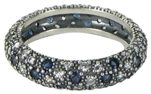 PANDORA 190915NBC Ring Cosmic Stars Blue Clear Cubic Zirconia Sterling Silver