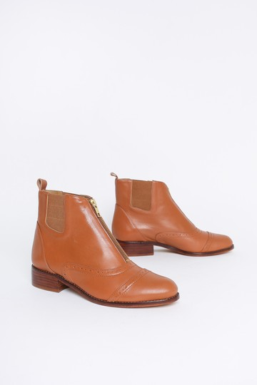Anthropologie Camel Boots Image 4