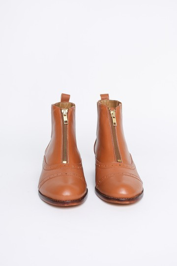 Anthropologie Camel Boots Image 5