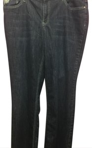 Christopher & Banks Boot Cut Jeans-Dark Rinse