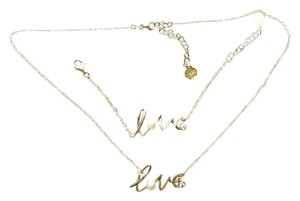 Majorica Majorica set LOVE bracelet and necklace