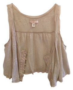 Urban Outfitters Top Ivory