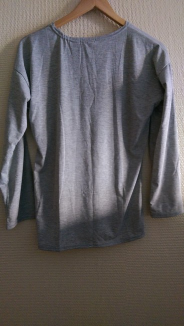 Other T Shirt Gray/Black