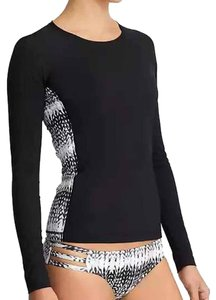 Athleta T Shirt black/white