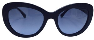 Chanel Chanel Blue Signature Butterfly Sunglasses 5346 c.1426/S2 56