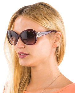 Chopard Chopard SCH 106 Women Butterfly Swarovski Crystals Fashion Sunglasses