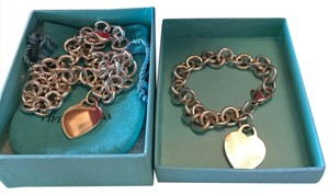 Tiffany & Co. authentic set breclet and necklace