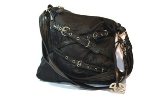 Marc Ecko Red Edgy Satchel in Black