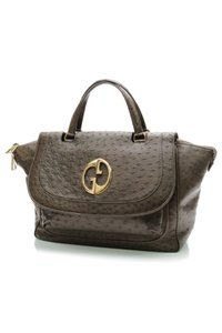 Gucci Satchel in Olive (Green-Brown)