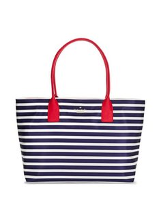Kate Spade Catie Catie Tote in Red navy