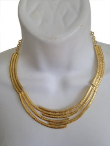 Karine Sultan Karine Sultan Multi Bar Statement Necklace