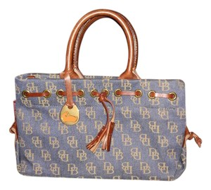 Dooney & Bourke Tote in Denim, Blue