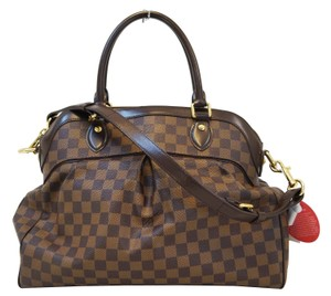 Louis Vuitton Lv Trevi Gm Damier Ebene 2way Handbag Satchel
