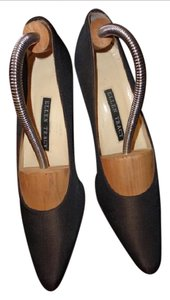 Ellen Tracy iridescent brown with bronze heel Pumps
