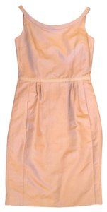 Max Mara short dress Greige Sleeveless Retro 1960s Scoop Neck Sheath on Tradesy