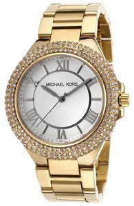 Michael Kors Michael Kors Slim Camille Gold-Tone Ladies Watch MK3277