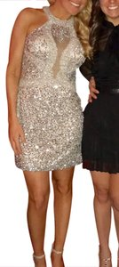 Scala Sexy Sequin Party Short Dress