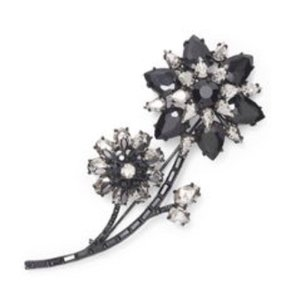 Kate Spade Trellis Blooms large brooch